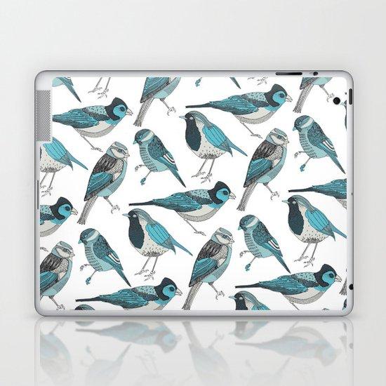 pale green birds Laptop & iPad Skin