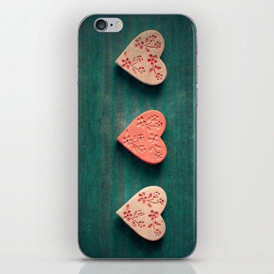 My Heart goes boom.. iPhone & iPod Skin