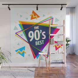 Fashion 90's style Wall Mural