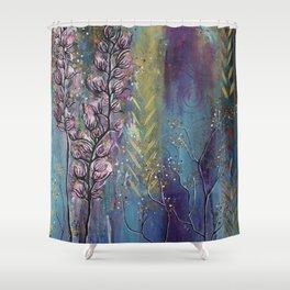 Seeds of Loving Spirit Shower Curtain