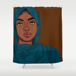 Ouuu Freckles Shower Curtain
