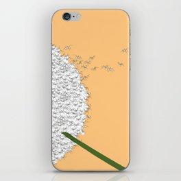 Flying ants iPhone Skin
