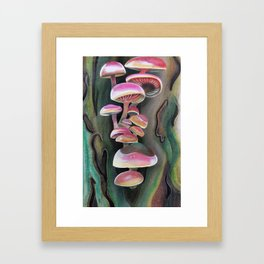 Hongos Framed Art Print