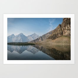 Reflecting in the Rockies.  |  Canada Art Print