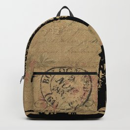 EIFFEL TOWER FRENCH COLLAGE Backpack