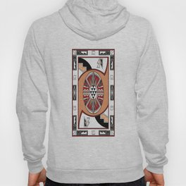 African Tribal Pattern No. 202 Hoody