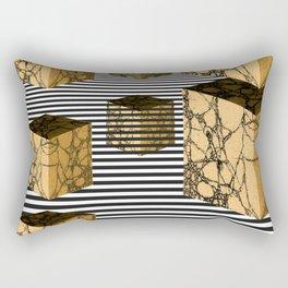 Cube Descension Rectangular Pillow