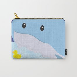 Bathing Whale Carry-All Pouch