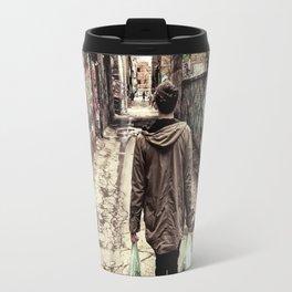 Graffiti Alley Travel Mug