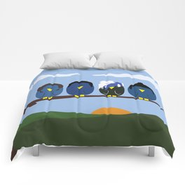 Marianas Trench o' Birds Comforters