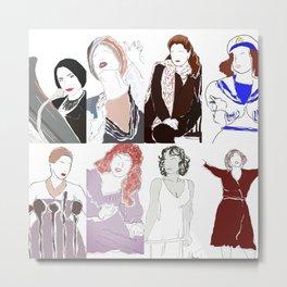 Patti LuPone Phantasmagoria  Metal Print