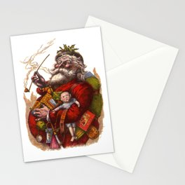 Victorian Santa Claus Stationery Cards