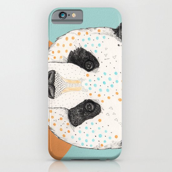 Polkadot Panda iPhone & iPod Case