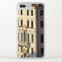 Venice Mon Amour Clear iPhone Case