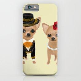 chihuahua couple mariachi iPhone Case