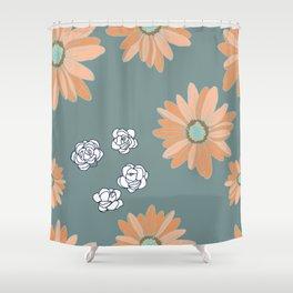 Lazy Daisies Shower Curtain