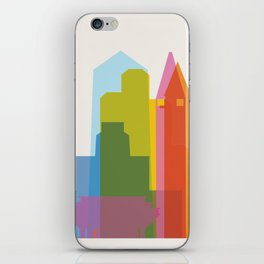 Shapes of San Diego iPhone Skin
