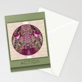 Action Manifestation Mandala No. 4 Stationery Cards