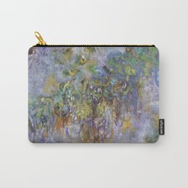 """Claude Monet """"Wisteria"""", 1919-1920 Carry-All Pouch"""