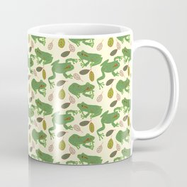 Fun Frogs with Leaves from Trees Coffee Mug