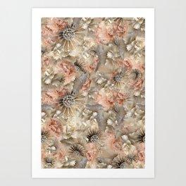 Flora Art Print