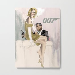James Bond 007 Metal Print