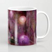 buddah Mugs featuring Woman in Meditation by teddynash