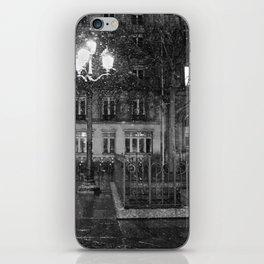 Paris road iPhone Skin