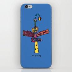 Traffic signal iPhone & iPod Skin