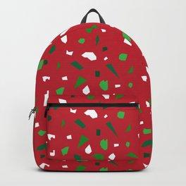 Christmas Terrazzo Backpack