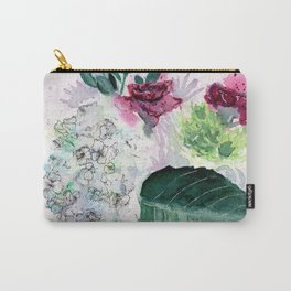 Valentine Flowers Carry-All Pouch