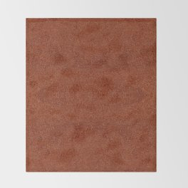 Rusty fibrous texture material abstract Throw Blanket