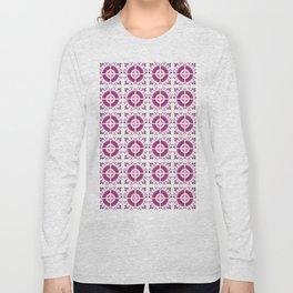 Flamingo Talavera Tiles Long Sleeve T-shirt