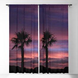 Palm Sunset - 8 Blackout Curtain