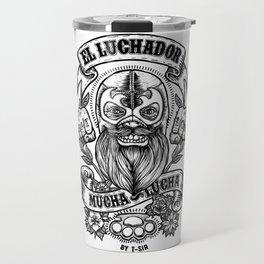 El Luchador Travel Mug