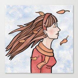 Fall Breeze Canvas Print