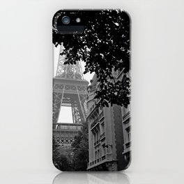 Eiffel Tower in Hiding iPhone Case