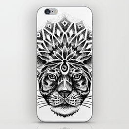 Trance tiger iPhone Skin