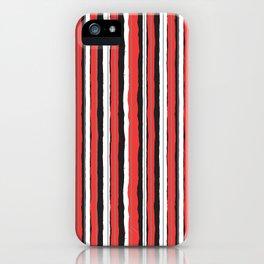 Strawberry Jiggle Stripes iPhone Case