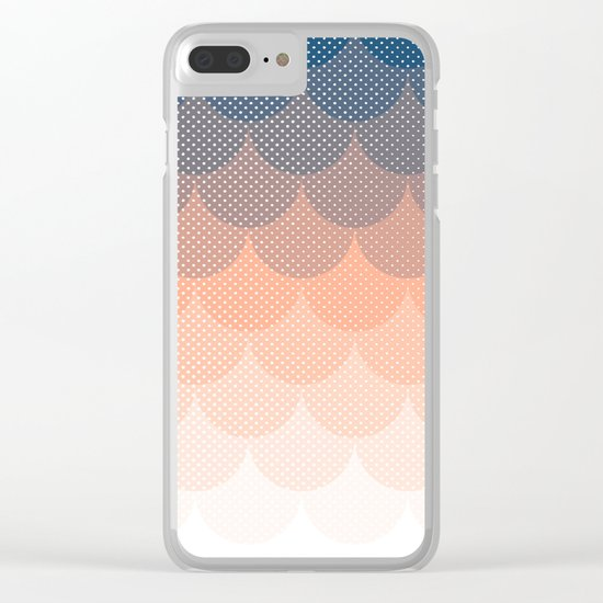 Abstract Clouds Clear iPhone Case