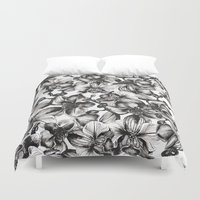 orchid Duvet Covers featuring orchid by GYYO