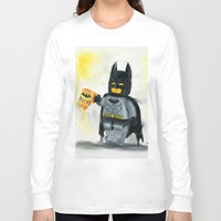 superhero Long Sleeve T-shirts featuring Lego Superhero by Toys 'R' Art
