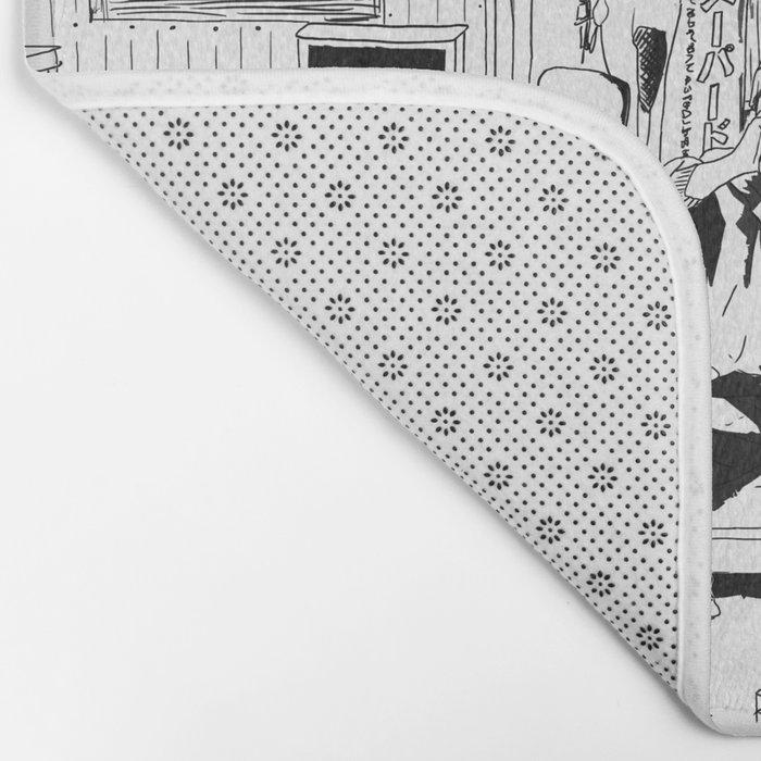 tokyo drinker Bath Mat
