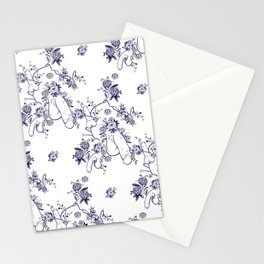 Penis Pattern Stationery Cards