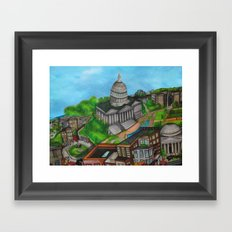 The Capitol Building - DC 2011 Framed Art Print