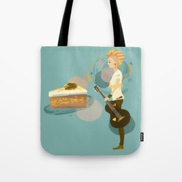 Pineapple Carrot Nut Cake Tote Bag