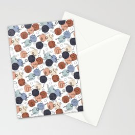 Vintage Microbiology on White Stationery Cards