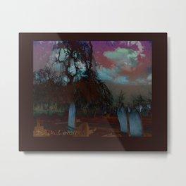 Boneyard Metal Print