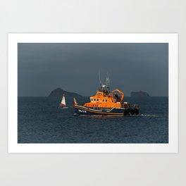 RNLI Lifeboat Torbay Art Print
