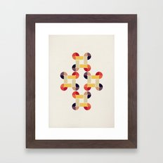 'round and 'round  Framed Art Print